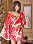 画像12: Japanese着物テイスト振袖ミニワンピース*3color (12)