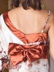 画像8: バタフライ&ビジュー付き花魁着物ミニinロングドレス*3color (8)