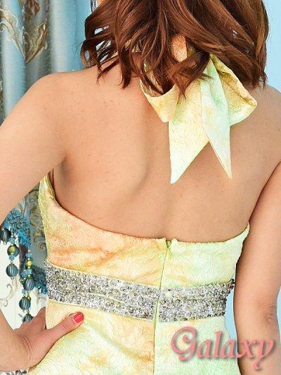 画像2: 上質*豪華ビジュー&スパンコール盛り*ROSEエンボス加工グラデーションロングドレス