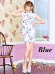 画像8: 美スタイル*レース切替花柄チャイナワンピースドレス*2color (8)