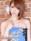 画像12: 絢爛華麗*SEXYスリット煌和風花柄ベアチャイナロングドレス*2color (12)