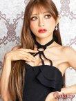 画像18: リング付きSEXYホルター*Aラインミニワンピースドレス*3color (18)