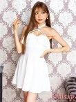 画像7: リング付きSEXYホルター*Aラインミニワンピースドレス*3color (7)
