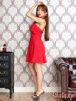 画像4: リング付きSEXYホルター*Aラインミニワンピースドレス*3color (4)
