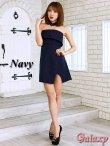 画像2: ボウタイ付き*ラップスカートベアミニワンピースドレス*2color*M/L/XL (2)