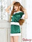 画像3: スクエア襟*サンタセットアップ*クリスマスコスチューム【3点セット】 (3)